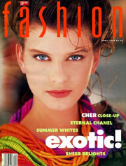 1989 Fashion Magazine Cover