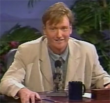Conan O'Brien first late night show was in 1993