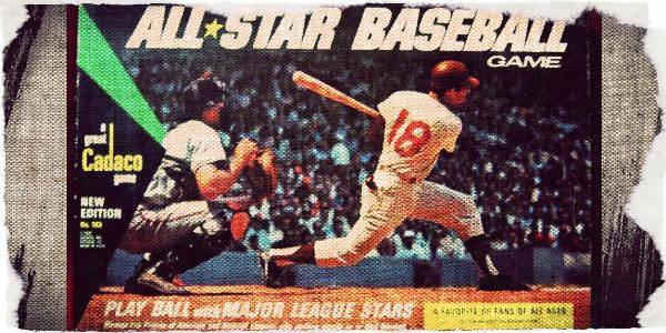 All Star Baseball by Cadaco