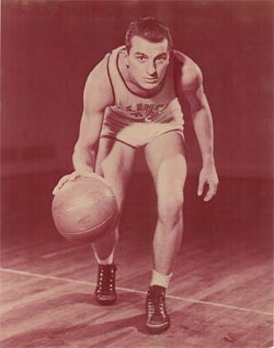 Andy Phillip of the Illinois Whiz Kids in 1943
