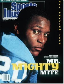 Barry Sanders on Sports Illustrated (1990)