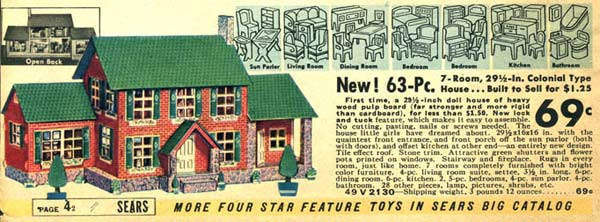 Colonial Style Doll House (1937)