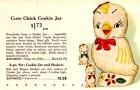 Cute Chick Cookie Jar