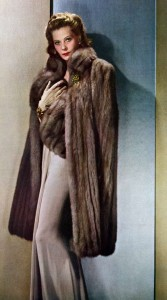Fur was very popular in 1941