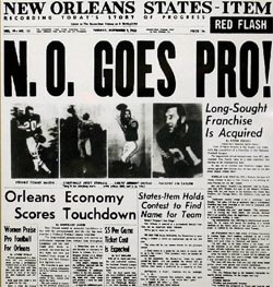 New Orleans Saints get team-1966