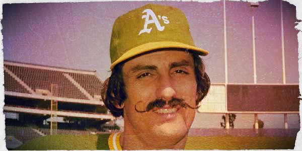 Rollie Fingers in 1972