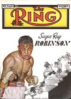 Sugar Ray Robinson in 1949