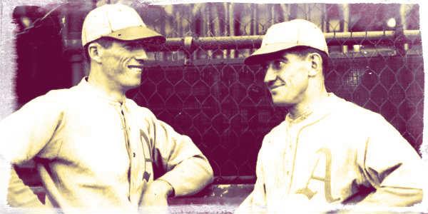 Lefty Grove & Mickey Cochrane (1930)