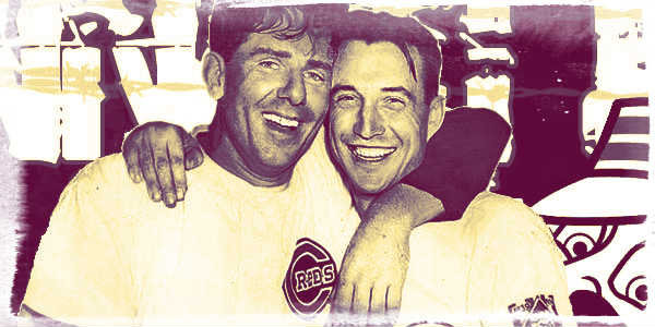 Bucky Walters & Paul Derringer of the 1940 Cincinnati Reds