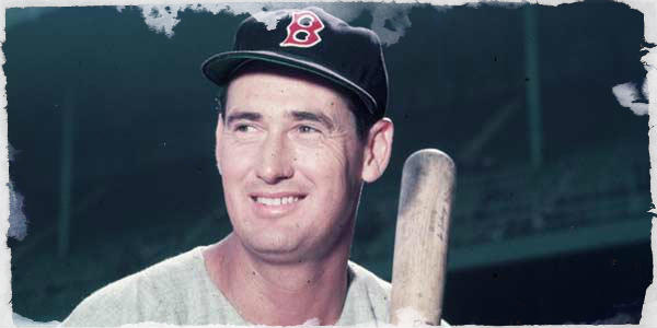 Ted Williams was one hit away from the Triple Crown in 1949