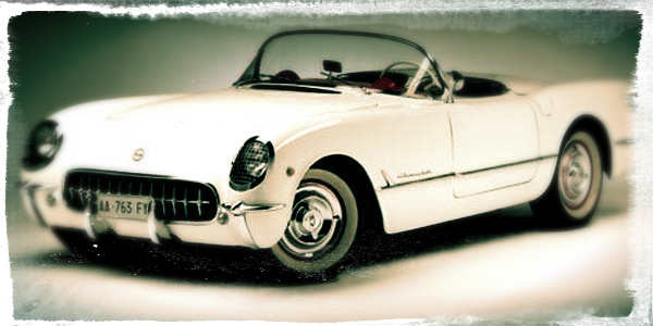 The All-New 1953 Chevy Corvette