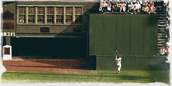 """Willie Mays """"The Catch"""" (1954)"""
