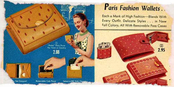 1950s Wallets