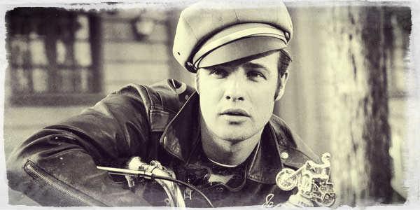 Marlon Brando in The Wild One (1953)