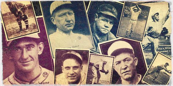 1931 w517 Baseball Cards