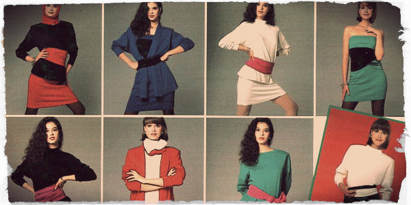 1980s Women & Girls Fashion