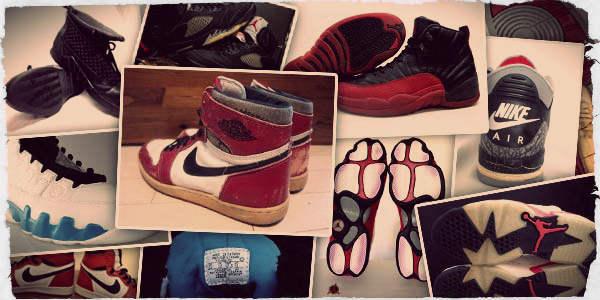 Vintage Nike Air Jordans
